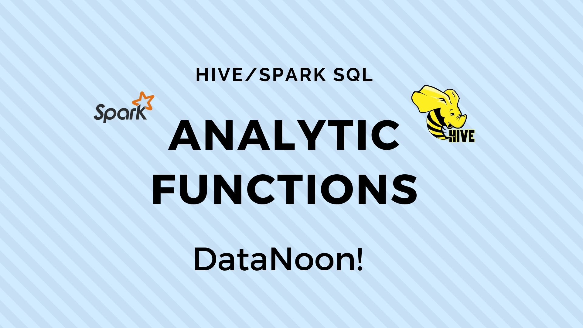 Hive Analytic Functions